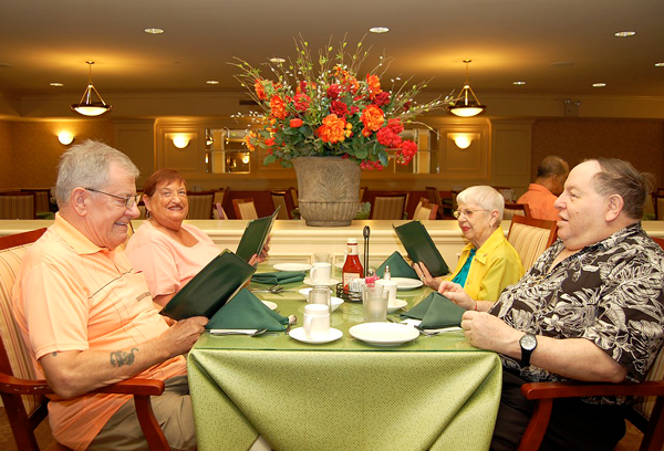 Features and Amenities Castle Senior Living Dining